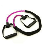Light  Resistance Ex-Cord Fitness Tube, Hard Grip-Pink (Professional Gym Quality) by AeroMat