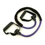 Heavy Resistance Ex-Cord Fitness Tube, Hard Grip -Purple (Professional Gym Quality) by AeroMat