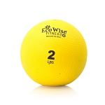 Weight Ball - 2 lb. (Sunflower) (Professional Gym Quality) by AeroMat