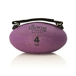 Slim Olive Weight Ball - 4 lb. (Iris) (Professional Gym Quality) by AeroMat