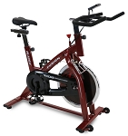 Fusion GSII Red Stationary Exercise Cycling Bike w/ Flywheel (for Home Gym) by Bladez Fitness