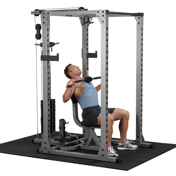 Body-Solid Lat Attachment for Pro Power Rack (GLA378)