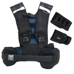 20 lb. Weighted Body Vest Kit w/ Gloves & Ankle Weights (Home Gym Use) by Fuel Performance