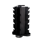 CAP 4 Sided Dumbbell Rack (holds 5-30 lbs. SDG, SDCG, and SDR) (Professional Gym Quality)