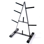 "1"" Plate Rack A Frame (Home Gym Use) by CAP Barbell"