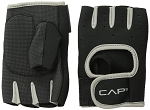Men's Weight Lifting Gloves Gray, Large by CAP Barbell