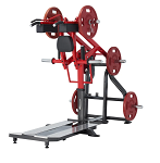 Standing Squat Machine - Plate Loaded by Steelflex
