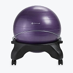 Backless Balance Ball Chair - Purple by Gaiam