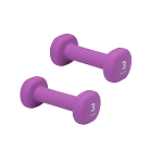 3 lb. Dumbbell Neoprene Hand Weight (Pair) by Gaiam