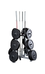 Pro Clubline Weight Tree, Rack Only (Professional Gym Quality) by BodySolid