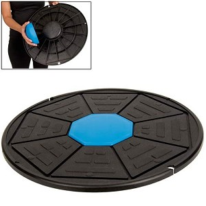 Balance Wobble Board (Professional Gym Quality) by AeroMat