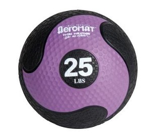 25 lb. Workout Medicine Ball (Home Gym Use) by AeroMat