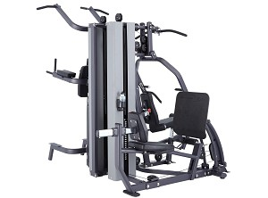 MG200B Multi Station Gym Pulley Weight Machine - 420 lb. Stack by SteelFlex