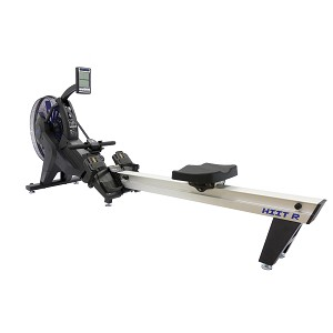 HIIT Air Rowing Machine w/ Fan for Cardio Stamina & CrossFit  (Commercial Gym Quality) by AirTEK