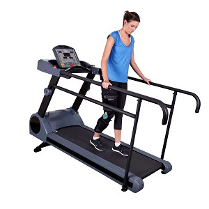 PhysioMill Physical Therapy Treadmill w/ Long Medical Support Handrails (Commercial Grade Quality)