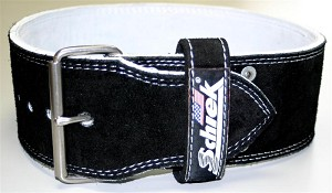 Schiek 10 cm. Single Prong Competition Power Lifting Belt - Small