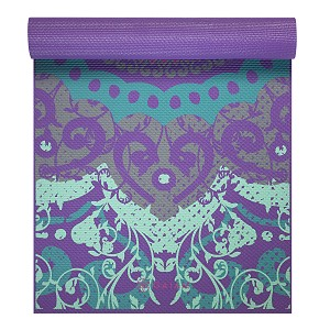 Yoga Mat Moroccan Garden by Gaiam (4mm)