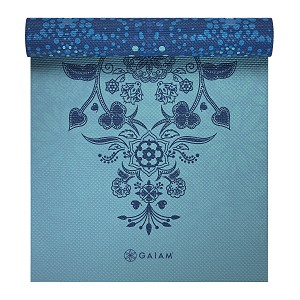 Yoga Mat Premium Reversible Mystic Sky by Gaiam (6mm)