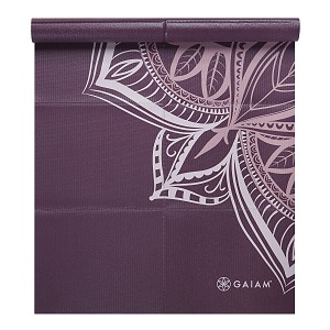 Yoga Mat Foldable Cranberry Point by Gaiam (2 mm)
