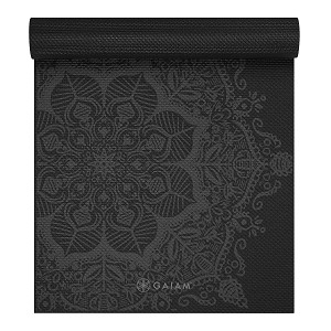 Premium Yoga Mat Midnight Mandala by Gaiam (6mm)