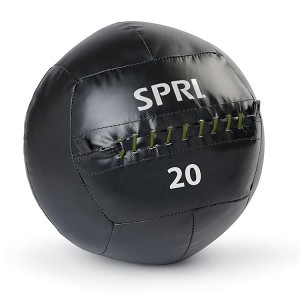 20 lb. Soft Medicine Wall Ball for CrossFit Throws (Professional Gym Quality) by SPRI