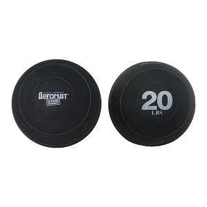 20 lb. Exercise Slam Ball w/ Sand for CrossFit (Professional Gym Quality) by AeroMat