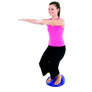 "Balance Disc Cushion - 24"" Dia. Blue (33302) (Professional Gym Quality) by AeroMat"