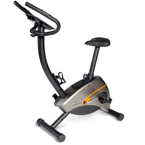 Upright Indoor Stationary Workout Bicycle (Home Gym Use) by Velocity Exercise