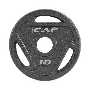10 Lb 2 Quot Grip Plate Black Single Professional Gym