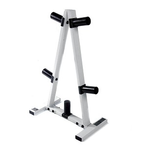 "2"" Olympic Weight Plate Rack - Single (Home Gym Use) by CAP Barbell"
