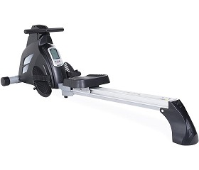 Foldable Workout Rower - Black (Home Gym Use) by Velocity Exercise