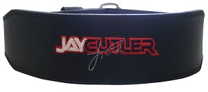 "4"" Black Leather Jay Cutler Powerlifting Belt -Small by Schiek"